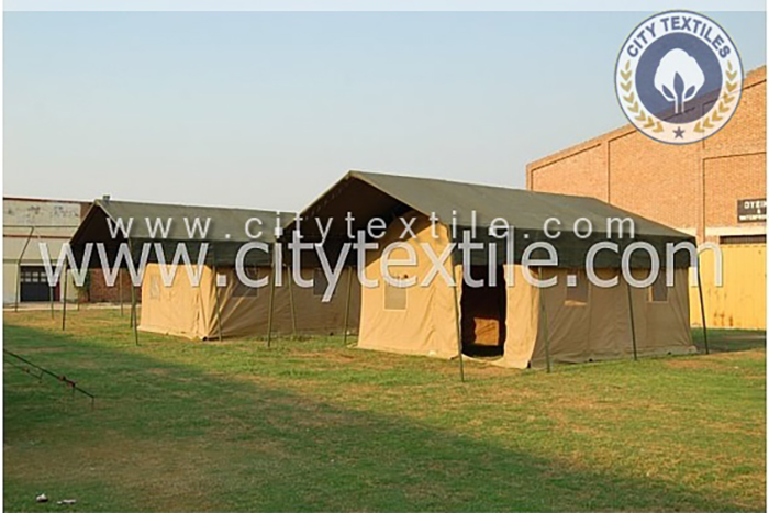 Safari tents by city textile